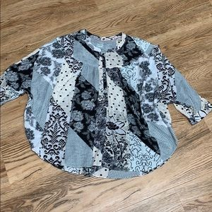 Anthropologie Maeve Tunic Top Size Large